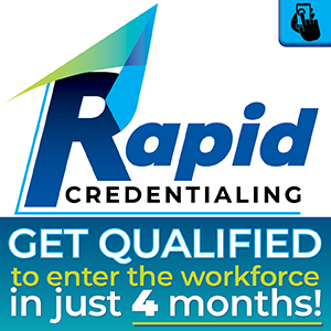 Rapid Credentialing - GET QUALIFIED Icon